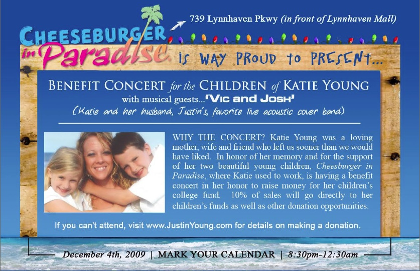 KatieBenefitConcertFlyer